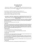 Tiêu chuẩn Việt Nam TCVN 5095:1990