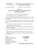 Quy chuẩn kỹ thuật Quốc gia QCVN 01:2012/BQP