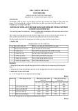 Tiêu chuẩn Việt Nam TCVN 5509:1991