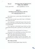 Quy chuẩn kỹ thuật Quốc gia QCVN 22:2016/BYT