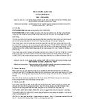 Tiêu chuẩn Quốc gia TCVN 10369:2014 - ISO 17895:2005