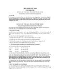 Tiêu chuẩn Việt Nam TCVN 5386:1991
