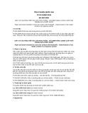 Tiêu chuẩn Quốc gia TCVN 10090:2013 - EN 920:2001