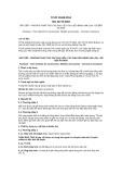 Tiêu chuẩn Quốc gia TCVN 10446:2014 - ISO 22775:2004