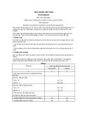 Tiêu chuẩn Việt Nam TCVN 5329-1991