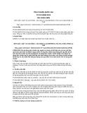 Tiêu chuẩn Quốc gia TCVN 10095:2013 - ISO 15318:1999
