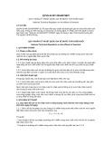 Quy chuẩn kỹ thuật Quốc gia QCVN 62-MT:2016/BTNMT
