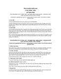 Tiêu chuẩn Quốc gia TCVN 10109:2013 - ISO 8534:2008