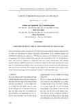 Lịch sử ô nhiễm kim loại nặng của hồ Trị An
