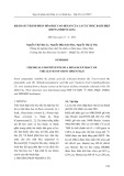 Khảo sát thành phần hóa học cao hexan của lá cây trắc bách diệp (Biota Orientalis)