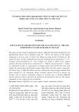 Ứng dụng phần mềm AIQS-DB phân tích các hợp chất hữu cơ trong mẫu nước các sông lớn của Việt Nam