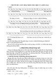 Các chuyên đề về Hóa học