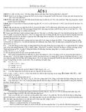 Bộ đề dạy học sinh giỏi môn Hóa học lớp 8