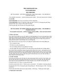 Tiêu chuẩn Quốc gia TCVN 10533:2014 - ISO 12364:2001
