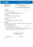 Đề kiểm tra học kì 1 môn Toán lớp 12 năm học 2014-2015 - Sở GD&ĐT Vĩnh Phúc