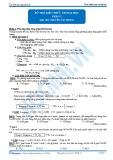 Bổ trợ kiến thức thi Đại học: Phần 1