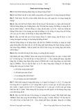 Danh sách bài tập thảo luận môn Thông tin di động