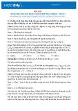 Chuyên đề: Phương pháp làm bài thi trắc nghiệm – Phần 2