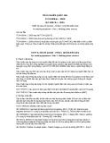 Tiêu chuẩn Quốc gia TCVN 8094-1:2009 - IEC 60974-1:2005