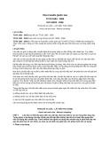 Tiêu chuẩn Quốc gia TCVN 1693:2008 - ISO 18283:2006