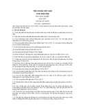 Tiêu chuẩn Việt Nam TCVN 1833:1988