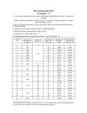 Tiêu chuẩn nhà nước TCVN 2026:1977