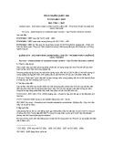 Tiêu chuẩn Quốc gia TCVN 1668:2007 - ISO 7335:1987