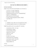 Bài tập Tài chính doanh nghiệp 2 - ThS. Đoàn thị Thu Trang