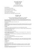Tiêu chuẩn Việt Nam TCVN 4862:1989 - ISO 2930:1975