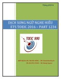 dịch song ngữ nghe hiểu ets toeic 2016 – part 1 2 3 4