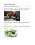 Hướng dẫn 12 cách giải rượu cấp tốc