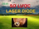 Bài thuyết trình Sơ lược laser diode