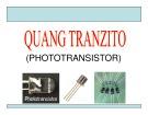 Bài giảng Quang Tranzito (Phototransistor)