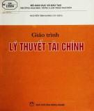 Giáo trình Lý thuyết tài chính: Phần 1 - Nguyễn Thị Oanh (chủ biên)