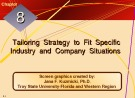 Lecture Crafting and executing strategy: The quest for competitive advantage - Chapter 8