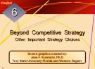 Lecture Crafting and executing strategy: The quest for competitive advantage - Chapter 6
