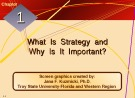 Lecture Crafting and executing strategy: The quest for competitive advantage - Chapter 1