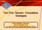 Lecture Crafting and executing strategy: The quest for competitive advantage - Chapter 5