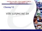 Bài giảng Quản lý dự án phần mềm: Chương 5 - Trần Thị Kim Chi