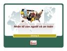 Bài giảng Yếu tố con người: Chương 8 - ĐH Công nghiệp TP.HCM