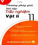 Ebook Phương pháp giải bài tập trắc nghiệm Vật lí 11: Phần 1