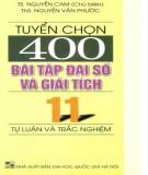 tuyển chọn 400 bài tập Đại số và giải tích 11 (tự luận và trắc nghiệm): phần 1