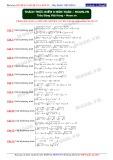 Khóa học kĩ thuật giải hệ PT và bất PT: Thách thức điểm 9 môn Toán