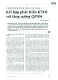 Vùng Đồng bằng Sông Cửu Long: Kết hợp phát triển KTXH với tăng trưởng QPAN