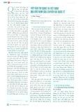 Tiếp cận tín dụng tại Việt Nam qua góc nhìn của chuyên gia quốc tế