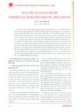 Tái cấu trúc cơ cấu đầu tư phù hợp với mô hình tăng trưởng mới giai đoạn 2011 - 2020 của Việt Nam
