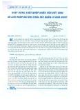 Hoạt động xuất nhập khẩu của Việt Nam và giải pháp đối với công tác quản lý Nhà nước