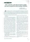 Kiểm soát độc quyền đối với doanh nghiệp Nhà nước trong nền kinh tế thị trường Việt Nam