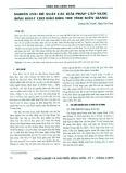 Nghiên cứu đề xuất các giải pháp cấp nước sinh hoạt cho đảo Hòn Tre tỉnh Kiên Giang