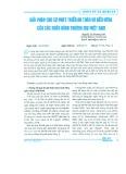 Giải pháp cho sự phát triển an toàn và bền vững của các ngân hàng thương mại Việt Nam